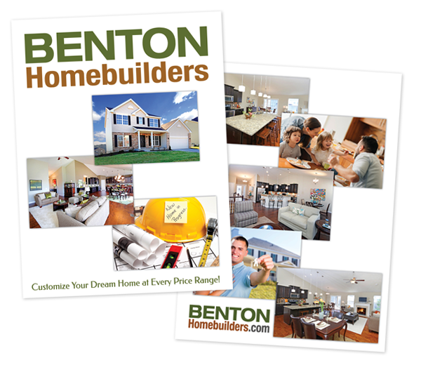 Benton Homebuilders Folder Design